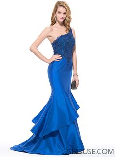 You'll earn plenty of double takes in this chic mermaid dress! #JJsHouse #Party #Evening #Prom #Cocktail