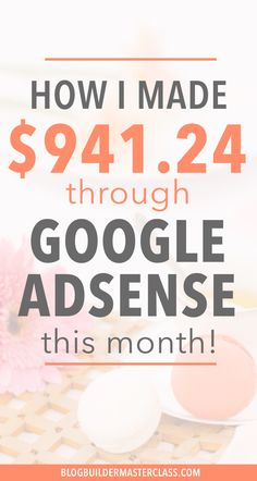 I didn't know that you can make lot of money monthly through Google Adsense. I only made couple of cents blogging. I'm so glad to find these tips to grow my online income revenue. It looks like it's really not hard with these strategies! Definitely pinning!