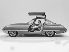'62 Ford Cougar Concept Car (by Auto Clasico)