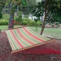 Pawleys Island Gardens Collection Large Quilted DuraCord Fabric Hammock Trellis Stripe -- Offer can be found by clicking the image