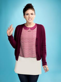 Sadie Claxton (Molly Tarlov). MTV 'Awkward.' Season 2 cast photo. photo credit: MTV/Matthias Clamer