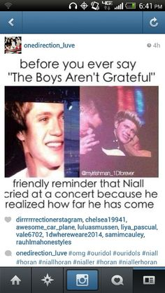HE CRIED AT THE MEXICO CITY CONCERT AND SO MANY MORE WHAT DO YOU HAVE TO SAY FOR YOURSELF