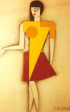 MANIFESTO DELLA MODA FEMMINILE FUTURISTA (illustrazioni disegni abiti di Tullio Crali)
