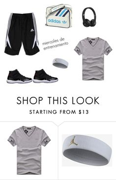 Sin título #100 by laura-juvera on Polyvore featuring Beats by Dr. Dre, NIKE, Freaker, Mono, men's fashion and menswear