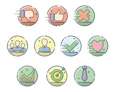 I will create simple minimalist icons with cheap price and fast delivery  order my gigs on fiverr