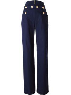Kenzo Buttoned Sailor Trousers - Elite - Farfetch.com