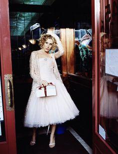 Sexo en Nueva York, Carrie haute couture