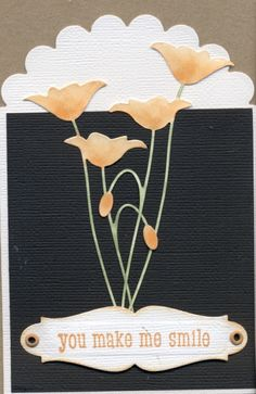 Scalloped Prim Poppy by scootsv - Cards and Paper Crafts at Splitcoaststampers