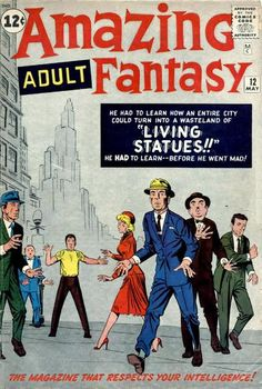 Amazing Adult Fantasy # 12 by Steve Ditko Horror Comics, Fun Comics, Marvel Comics, Comic 8, Best Comic Books, Steve Ditko, Silver Age Comics, Fantasy Comics, Classic Comics