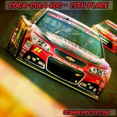 15th place for Jeff at the Coca-Cola 600.