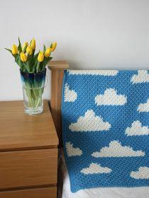 Vikki Bird Designs: New design: Fluffy White Clouds - the crochet version