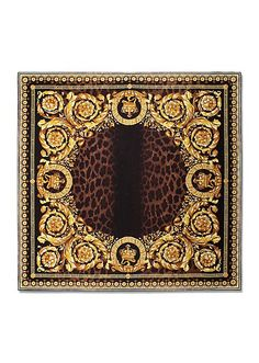 VERSACE   Animalier Barocco silk foulard   Accessories   Women   Shop at us.versace.com - official Versace online shop