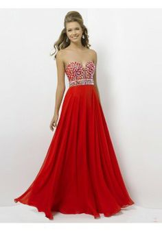 Empire Sweetheart Sleeveless Chiffon Red Prom Dress With Beading #FJ008 - See more at: http://www.victoriasdress.com/prom-dresses/beading-prom-dresses.html#sthash.Cgqo58nq.dpuf