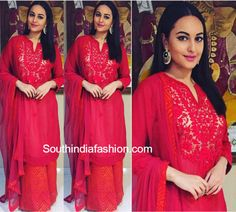 Sonakshi Sinha in Ritu Kumar Label