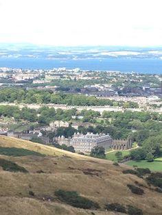 Holyrood Palace, Arthur's Seat, Edinburgh