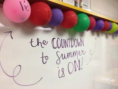 balloon fillers that make for a fun end of the year countdown!