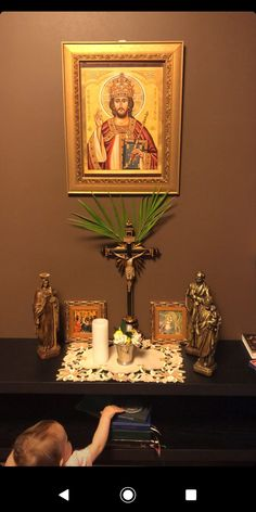 Jesus In Islam, Home Altar, Catholic Art, Renaissance Art, Doa, Faith, Christian, Traditional, Painting
