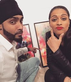 Lilly's Insta ~ Congrats to the homie @inkquisitive on his dope LA exhibition last night. This picture features a masterpiece. Oh and there's also some frames behind her... #iisuperwomanii #ink #britishbloke #allthedonuts