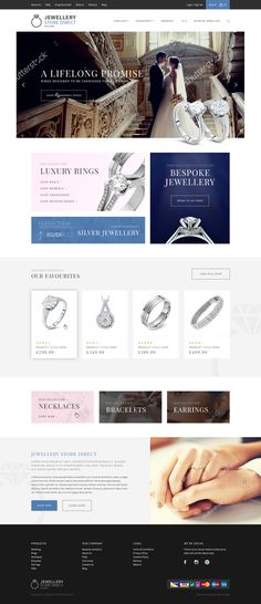 Looking for an online e-commerce website Jewellery Store Direct contacted us here at Logic Design and delivered a modern, clean and easy to use website with a touch of class. If you would like to read more about our services simply click on the image.