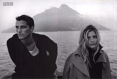 Vogue IT - Chiara Mastroianni - Apr 2001 Photos PETER LINDBERGH
