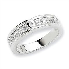Sterling Silver & Cubic Zirconia $41.00