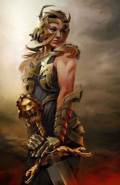 Female Armor Design from Guild Wars 2