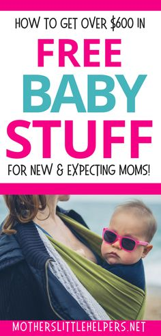 GET FREE BABY STUFF - Hey pretty momma, want some free baby stuff? We all need a financial break - especially when we're having a new baby. Most of the free baby stuff for new and expecting moms listed here are things you'd probably have on your baby registry or would receive as a baby shower gift. motherslittlehelpers.net #freebabystuff #babygear #freebies