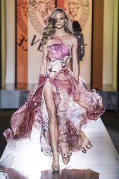 Beautiful Versace haute couture gown