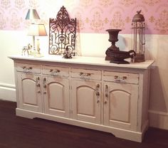 Painted #Buffet in #MadeByPaint #Plaster by Shabby Duck Studio Busselton Western Australia SOLD