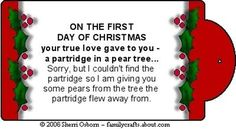 Goofball Gag Gifts for the 12 Days of Christmas