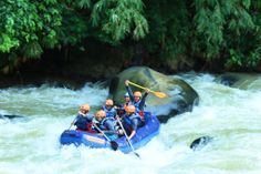 RAFTING KALA HUJAN : Adventure with CARE #Caldera_Indonesia #Rafting Citarik - Sukabumi, West Java Indonesia
