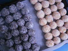 Apricot balls and Rum balls are favourite Christmas treats in our household. These were delicious!   Apricot balls  Ingredients 3/4 cup cond...