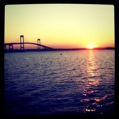 bridge to Portsmouth home