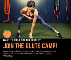 Develop strong, sexy glutes and prevent pain and injury with these 15 Bodyweight Glute Exercises. Bodyweight Glute Exercises, Hip Flexor Exercises, Glut Exercises, Hamstring Strengthening, Fun Workouts, At Home Workouts, Workout Ideas, Weight Loss Routine, Home Exercise Routines
