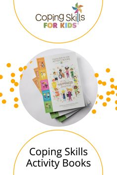 Activity books to help kids explore their coping skills in a playful fun way. Take a peek at what we have in store now! Coping Skills Activities, Family Activities, Social Emotional Development, Activity Books, Relaxation Techniques, Adhd Kids, Help Kids, Family Game Night, School Counselor