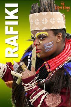 Lion King Jr. Rafiki costume