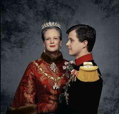 H.M. Dronningen og H.K.H. Kronprinsen