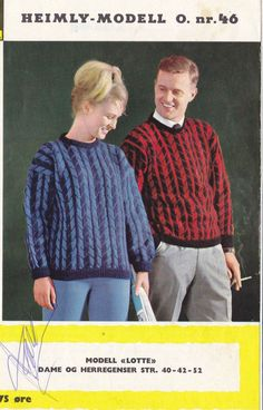Lotte 46 Colour Combinations, Knitting Patterns, Men Sweater, Sweaters, Color, Fashion, Color Combos, Moda, Knit Patterns