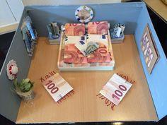 Zimmereinrichtung Aus Geldscheinen Geldgeschenke Gifts Money