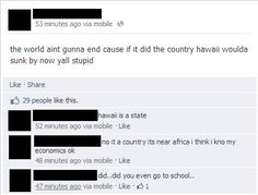 Guys he knows his economics, quit calling him stupid.