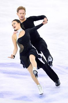 Madison Chock and Evan Bates ice dance free skate Grand Pix Final 2014 (Selections from An American in Paris by Leonard Bernstein)