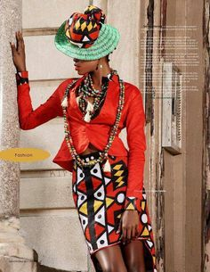 hat! Street Style. #Africanfashion