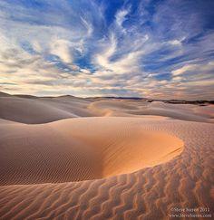 California Coastal Dunes by Steve Sieren Photography, via Flickr California's central coast