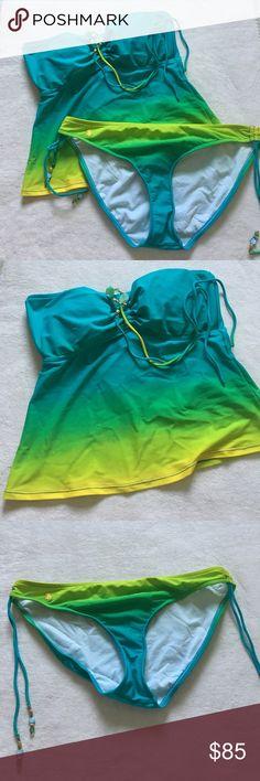 new // Ralph Lauren | Ombré Tankini Description coming soon! ✨ Ralph Lauren Swim Bikinis