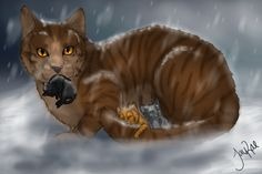 WCFF: There is nothing in the warrior code about medicine cats not being able to have kits. It just says they cannot have mates. Warrior Cats Fan Art, Warrior Cats Series, Warrior Cats Books, Warrior 3, Serval Cats, Fanart, Love Warriors, Comic, Cat Drawing