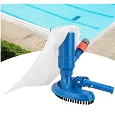 US$ 58.89 - Swimming Pool Vacuum Cleaner - m.cccinlife.com Portable Pool Vacuum, Portable Swimming Pools, Small Swimming Pools, Portable Spa, Swimming Pool Designs, Cleaning Hot Tub, Pond Cleaning, Brush Cleaning, Swimming Pool Vacuum Cleaner