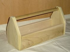 Small Wooden Tool Box.....just needs a little paint