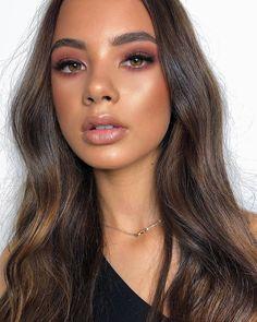 Best Natural Makeup Look For Brown Skin - Hair and Beauty - Make up Makeup Hacks, Makeup Inspo, Makeup Inspiration, Makeup Tips, Eye Makeup, Makeup Ideas, Makeup Goals, Sultry Makeup, 2017 Makeup