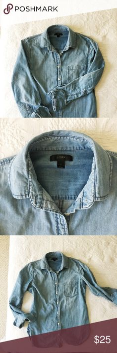 J.Crew button down Perfect condition. Very nice quality J. Crew Tops Button Down Shirts