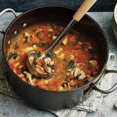 H-E-B Rustic Chicken Stew makes a wonderful comforting meal.